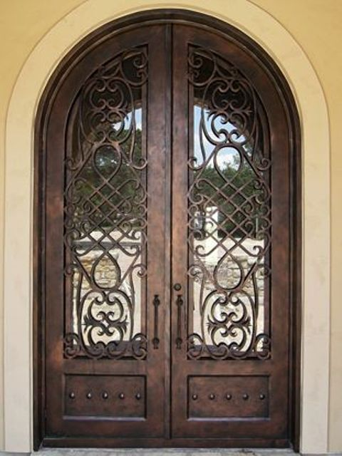 The Wrought Iron Gallery First Impression Wrought Iron Doors And